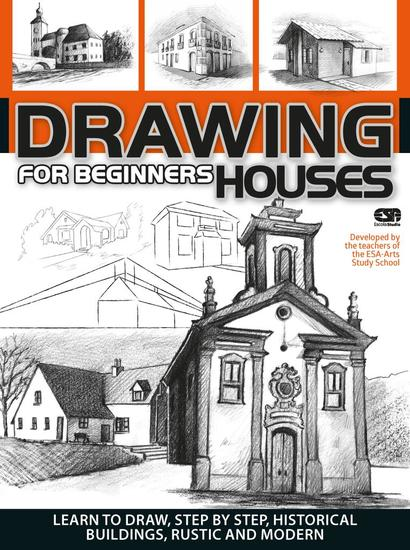 Drawing For Beginners (Houses) - Drawing For Beginners - cover
