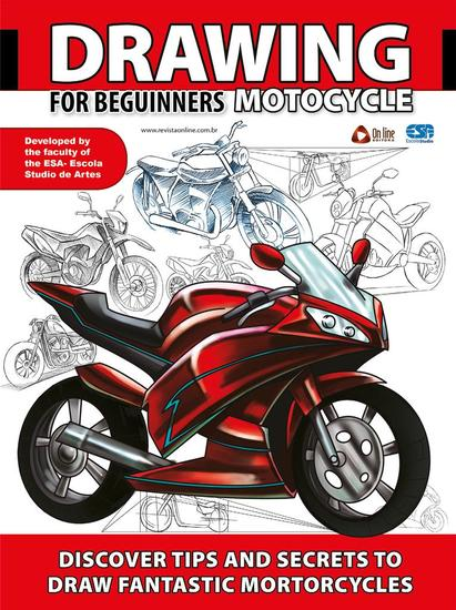 Drawing For Beginners (Motorcycle) - Drawing For Beginners - cover