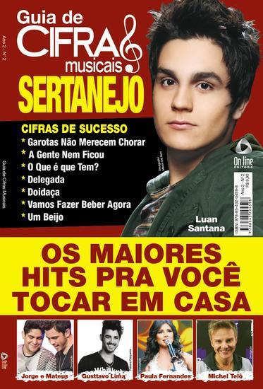 Guia de Cifras Musicais - Sertanejo - Guia de Cifras Musicais - cover