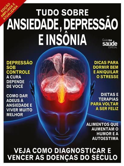 Guia Tua Saúde Especial - Como vencer a Ansiedade a Depressão e a Insônia - Guia Tua Saúde Especial - cover