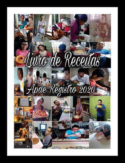 O Livro de Receitas - Apae Registro - cover
