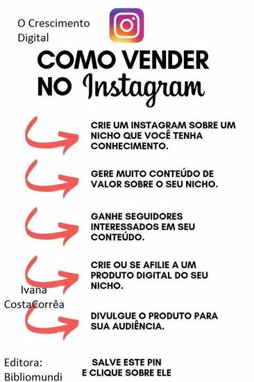 O Crescimento Digital Influencer - Ganhe Seguidores no Instagram Curso - cover