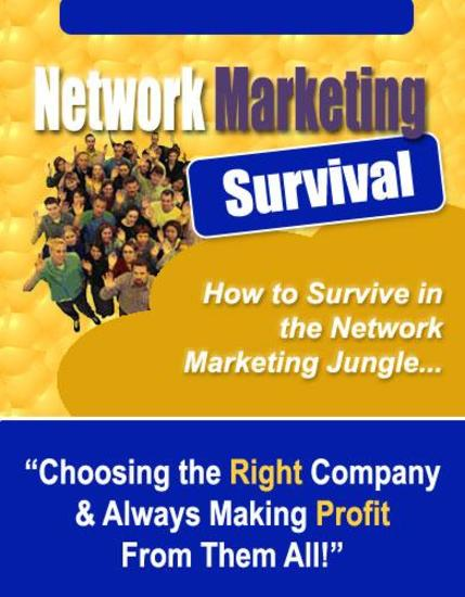 Network Marketing Survival - cover