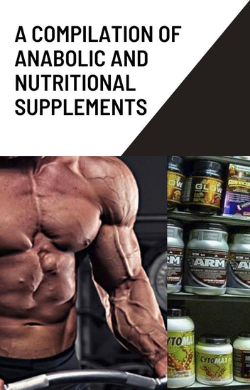 A compilation of anabolic and nutritionnal supplements - cover