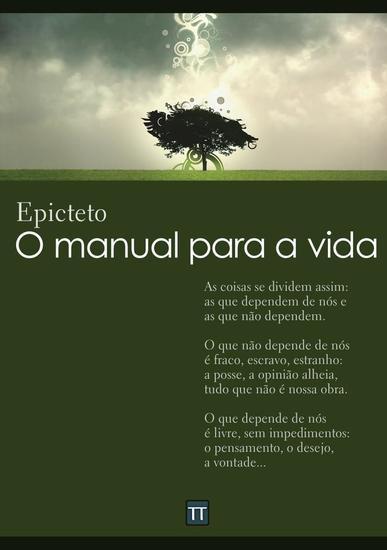 O manual para a vida (Encheiridion de Epicteto) - cover