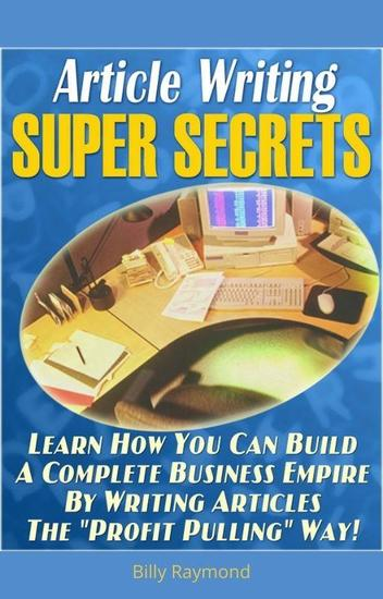 Article writing super secrets - cover