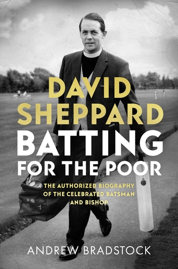 David Sheppard: Batting for the Poor - cover