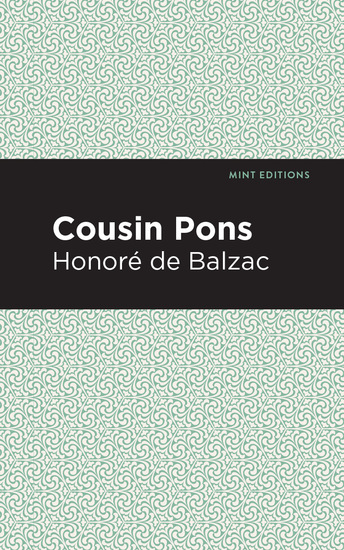 Cousin Pons - cover