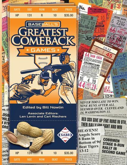 Baseball's Greatest Comeback Games - cover