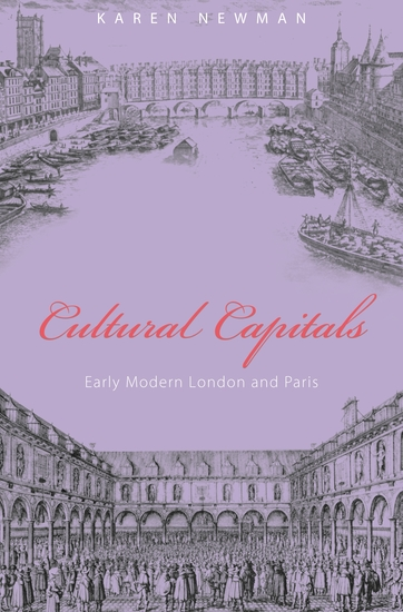 Cultural Capitals - Early Modern London and Paris - cover