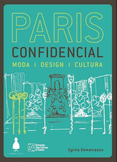 Paris confidencial - moda design cultura - cover