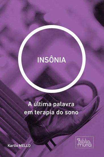 INSÔNIA - A última palavra em terapia do sono - cover