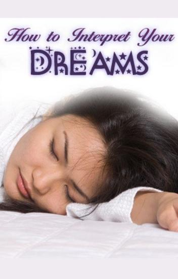 How to intepret your dreams - cover