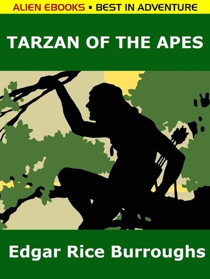 Tarzan of the Apes - cover