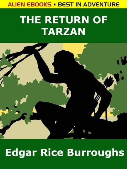 The Return of Tarzan - cover