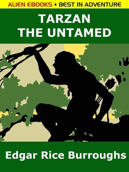 Tarzan the Untamed - cover