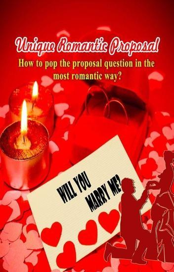 Unique Romantic Proposal - cover
