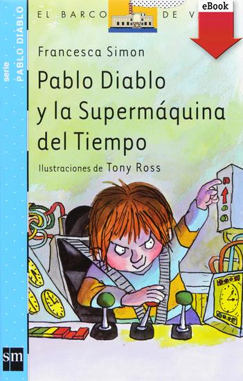 Pablo Diablo y la Supermáquina del tiempo - cover