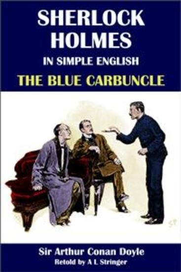 Sherlock Holmes in Simple English: The Blue Carbuncle - cover