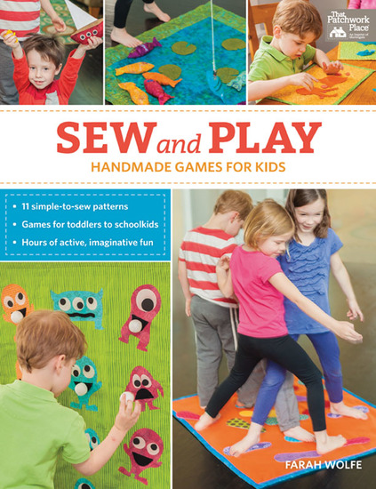 Sew and Play - Handmade Games for Kids - cover
