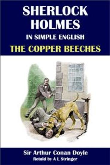 Sherlock Holmes in Simple English: The Copper Beeches - cover