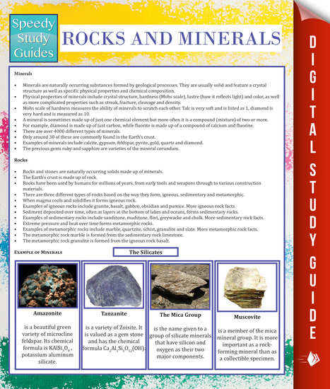 Rocks and Minerals (Speedy Study Guide) - cover
