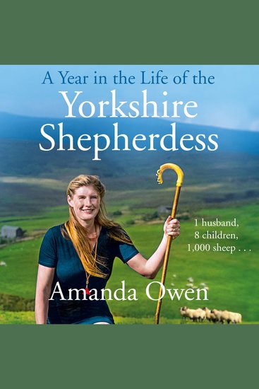 A Year in the Life of the Yorkshire Shepherdess - cover