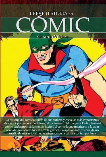 Breve historia del cómic - cover
