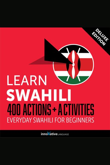 Everyday Swahili for Beginners - 400 Actions & Activities - cover