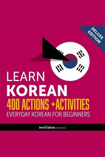 Everyday Korean for Beginners - 400 Actions & Activities - cover