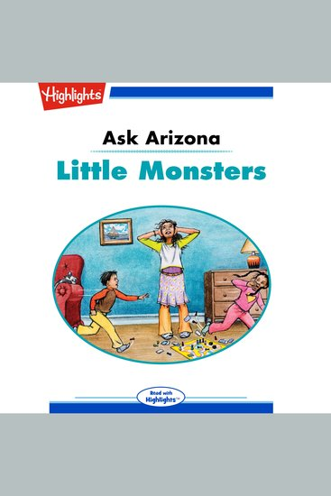 Little Monsters - Ask Arizona - cover