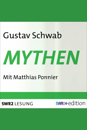 Mythen - aus: Sagen des klassischen Altertums - cover
