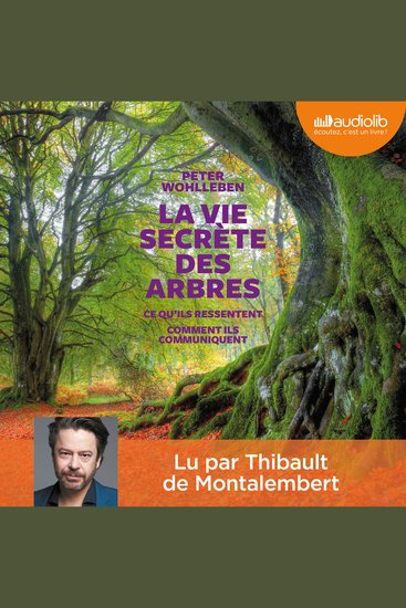 La Vie secrète des arbres - cover