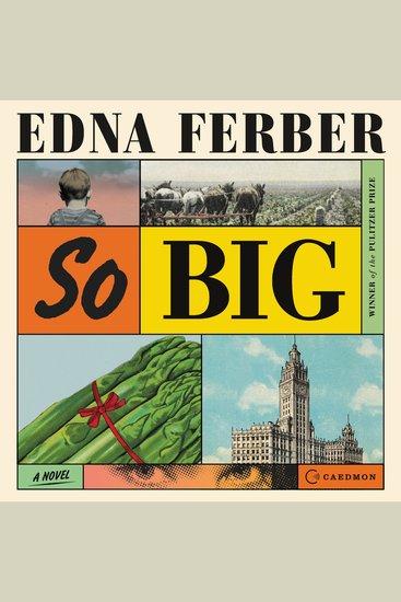 So Big - A Novel - cover
