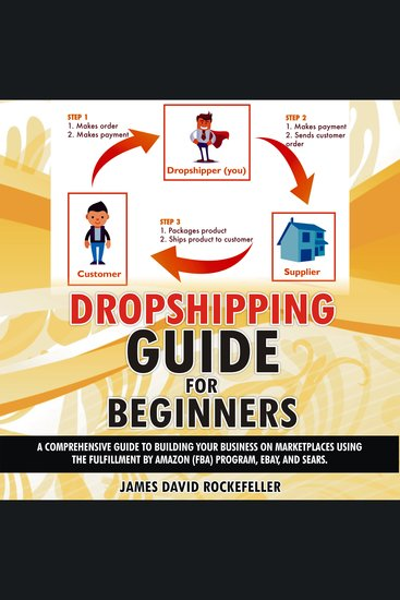 Dropshipping Guide for Beginners - A comprehensive guide to building your business on marketplaces using the Fulfillment by Amazon (FBA) program eBay and Sears - cover