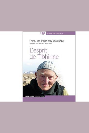 L'Esprit De Tibhirine - cover