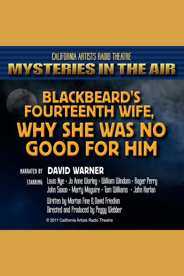 Blackbeard's Fourteenth Wife: Why She was No Good for Him - cover