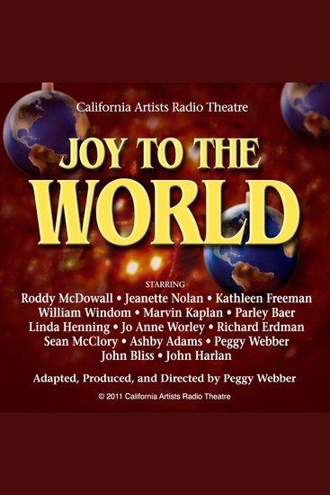 Joy To The World: A Variety Program - cover