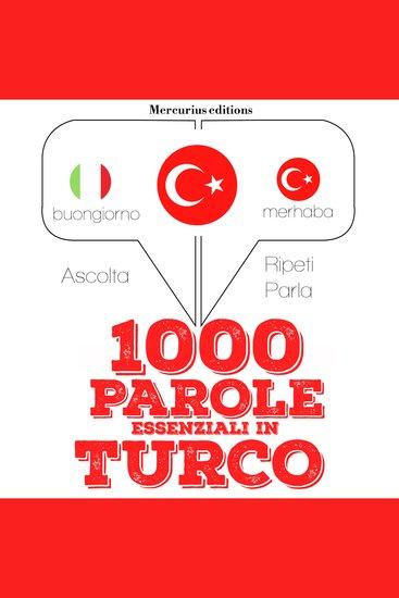 1000 parole essenziali in Turco - cover