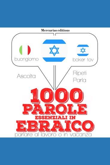 1000 parole essenziali in Ebraico - cover