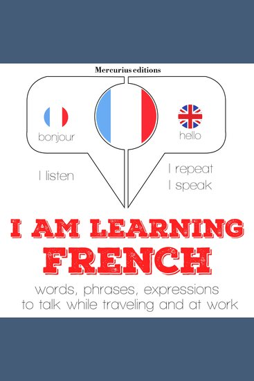 I am learning French - cover