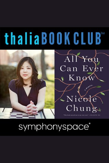 Thalia Book Club: Nicole Chung All You Can Ever Know - cover