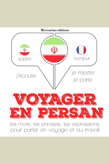 Voyager en persan - cover