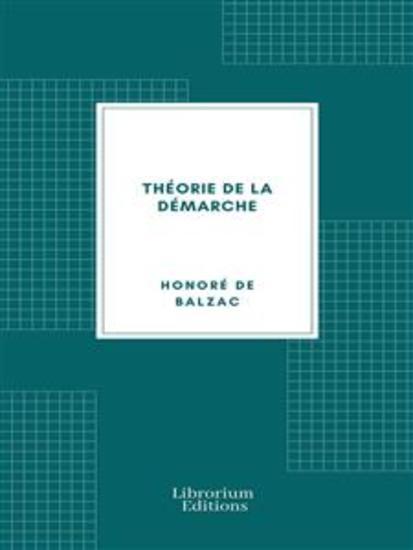 Théorie de la Démarche - cover