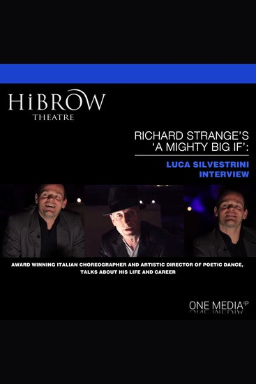 """HiBrow: Richard Strange's """"A Mighty Big If"""" with Luca Silvestrini - cover"""