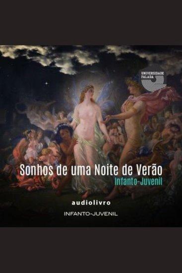 Sonhos de uma Noite de Verão (Versão Infanto-Juvenil) - cover