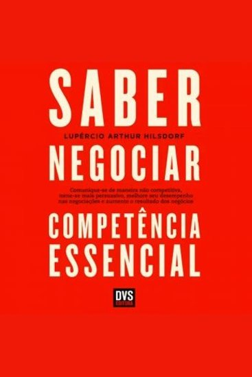 Saber Negociar Competência Essencial - cover