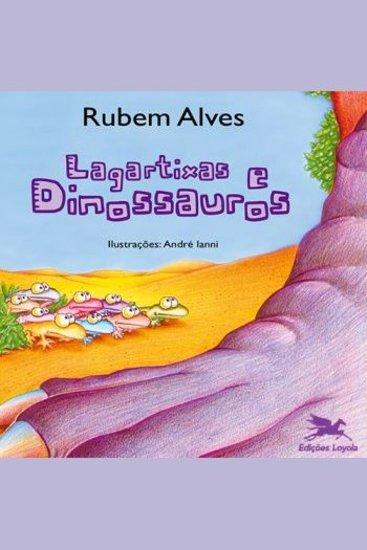 Lagartixas e dinossauros - cover
