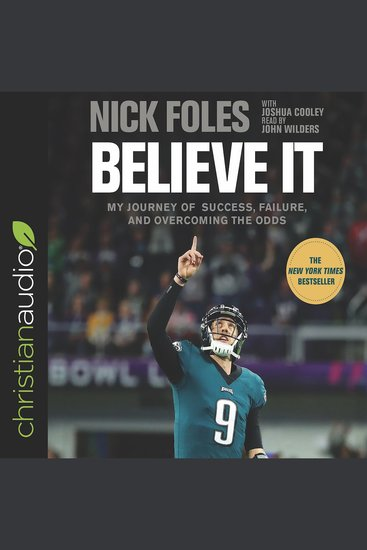 Believe It - My Journey of Success Failure and Overcoming the Odds - cover