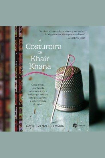 A Costureira de Khair Khana - cover